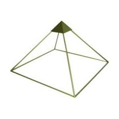 Pirámide Aluminio Mediana 50cms