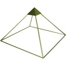 Pirámide Aluminio 1 metro (altura) 157cm x 157cm de Base