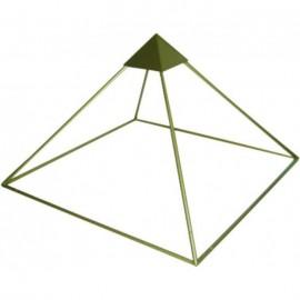Pirámide Aluminio (150 cm de altura) (235 x 235 cm de base)