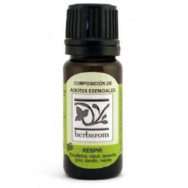 Aceites Esenciales Composición Respir 10 ml.  Herbaron